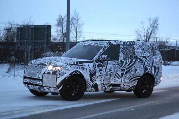Land Rover Discovery (2017): SUV-семейството се множи