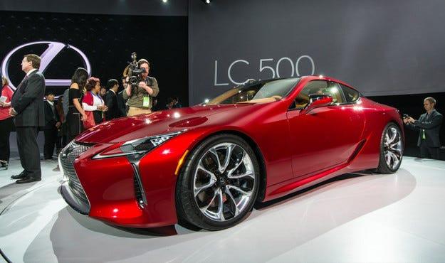 Новият Lexus LC 500 дебютира на салона в Детройт