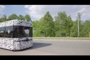 Тестове на първата руска автономна платформа