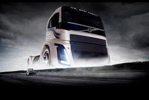 Volvo Trucks - The Iron Knight - най-бързият камион в света