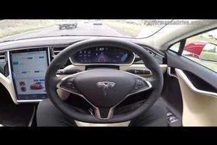 Tesla Autopilot 8 0