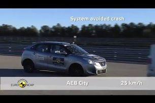 Euro NCAP тества Suzuki Baleno 2016