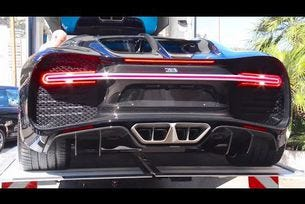 Bugatti Chiron пристига в Монако