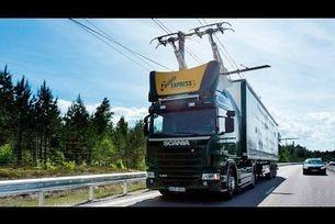 Тестове на електрически пътен участък в Швеция