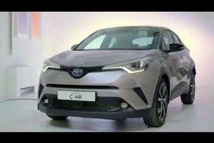 Новата Toyota C-HR 2017 - Статично представяне и интериор