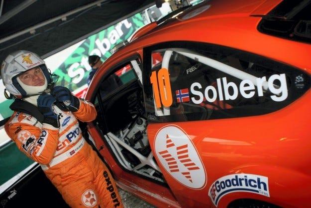 Рали Швеция: Хенинг Солберг бе най-бърз на шейкдауна