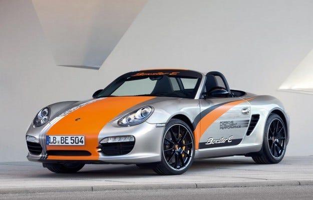 Porsche Boxster E: Подвижна лаборатория