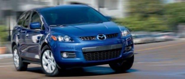 Mazda CX-7: Опашка от клиенти на Автосалон София 2007!