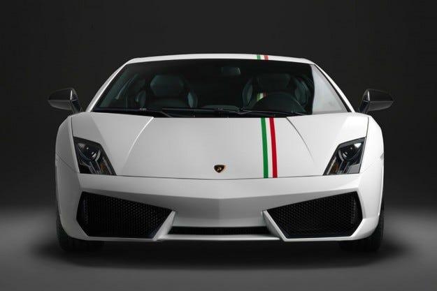 Lamborghini Gallardo Tricolore: Обединена Италия