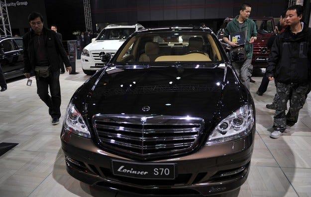 Lorinser S70: Половин милион евро