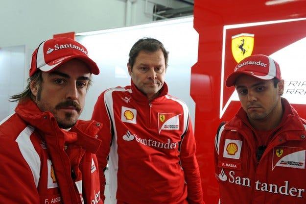 И Ferrari освободи техническия си директор