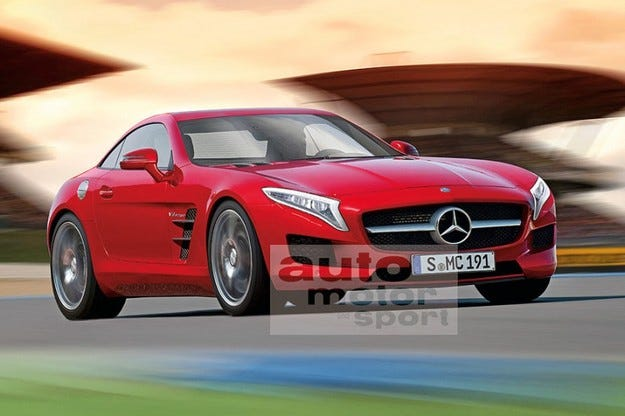 Mercedes SLS AMG ще се сдобие с умален вариант