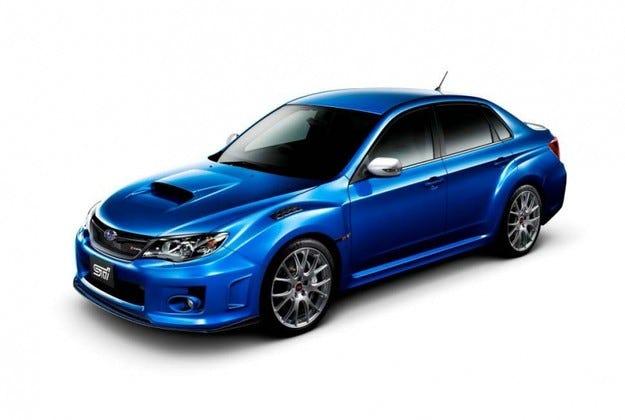 Subaru Impreza WRX STI S206: Царицата