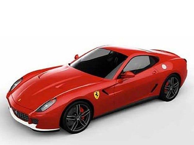 Ferrari 599 GTB 60F1: Честит юбилей!
