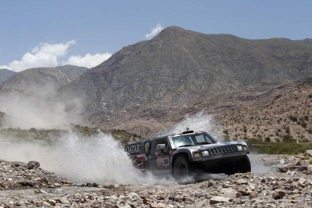 Рали Дакар: Двойна етапна победа за Hummer