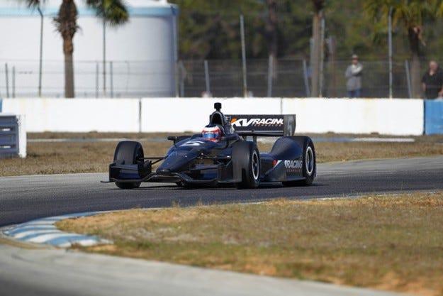 Барикело се пробва в IndyCar