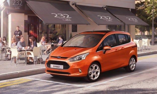 Ford B-Max: Пръв сред равни