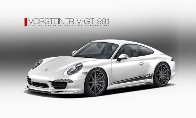 Vorsteiner V-GT 991: Време е за промяна