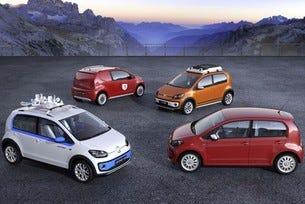 VW up!: Четири нови