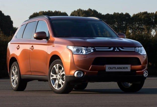 Mitsubishi Outlander: Третият брат
