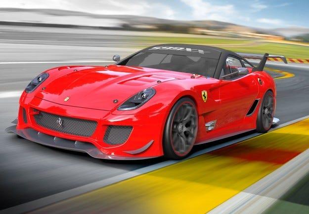 Ferrari ще продава 599XX Evo заради земетресението в Италия
