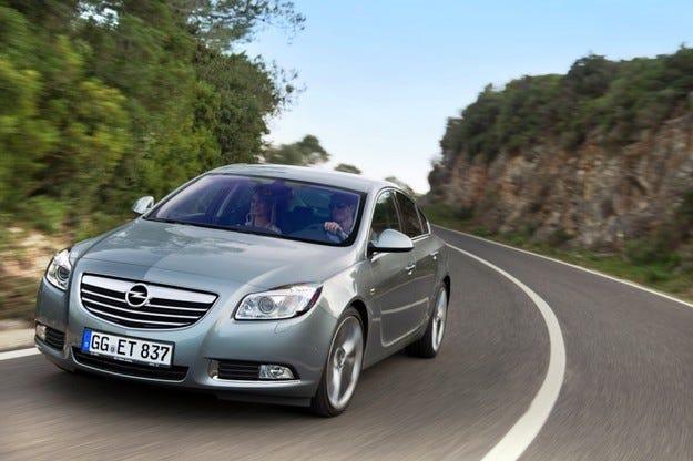 Opel Insignia 1.4 Turbo LPG ecoFLEX: Заводско газово