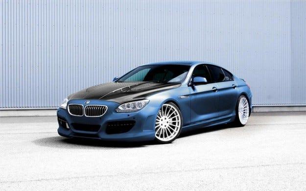 Hamann BMW 6 Gran Coupe: Първата снимка