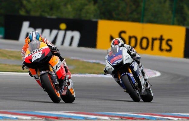 MotoGP: Педроса пребори Лоренсо за победата в Чехия