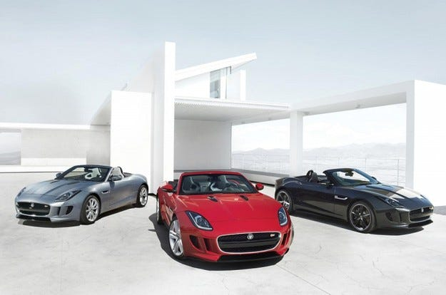Jaguar F-Type: Хвърлете по един поглед!