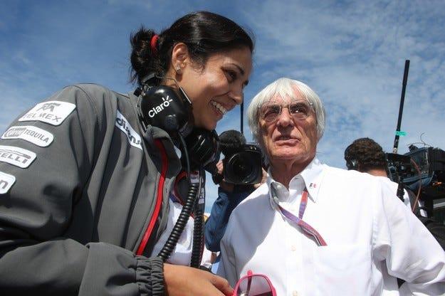 Калтенборн е първата жена тим-шеф във Формула 1