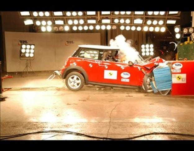 MINI Crashtest