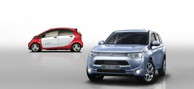 Mitsubishi Outlander PHEV: Дебют в Женева