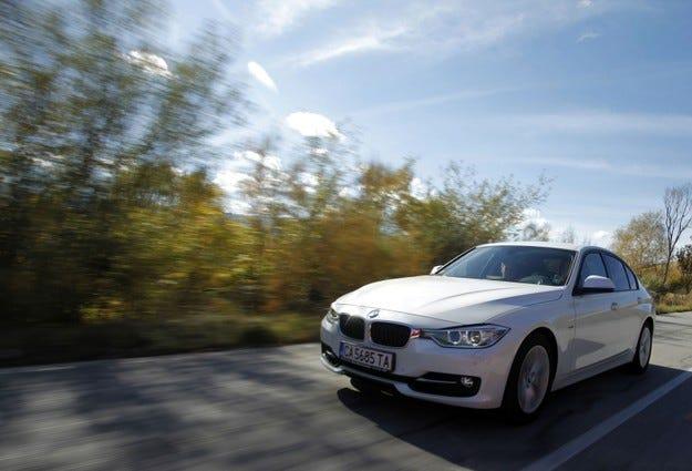 BMW 335i: Черешката на тортата