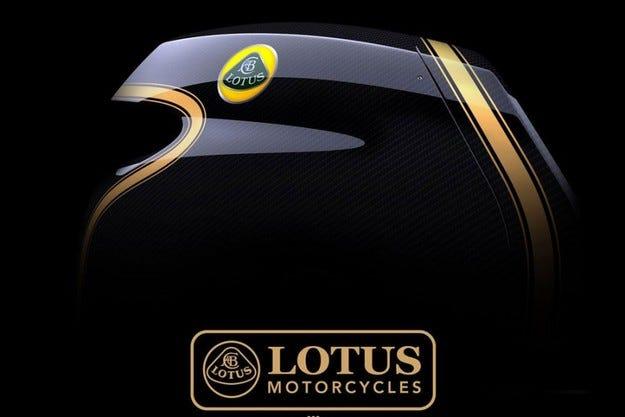 Lotus конструира спортен мотоциклет