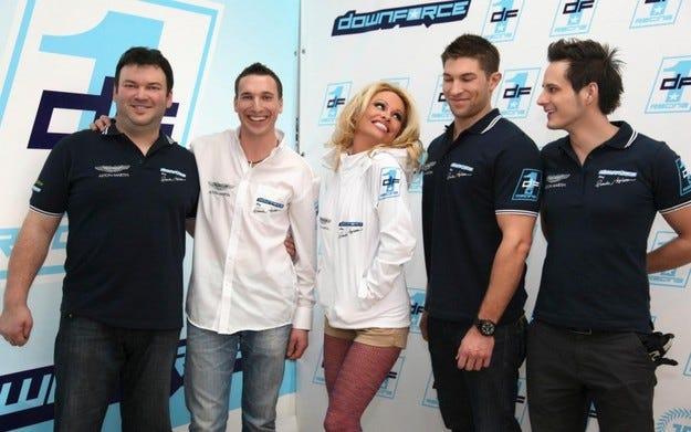 Памела Андерсън влиза във FIA GT със собствен отбор