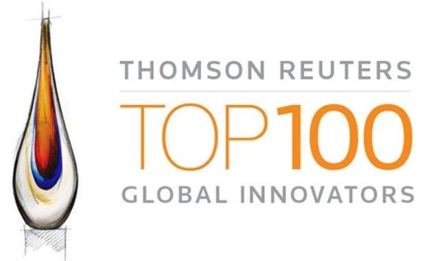 """Goodyear за трета поредна година начело на класацията  """"ТОП 100 световни иноватори"""" на  Thomson Reut"""
