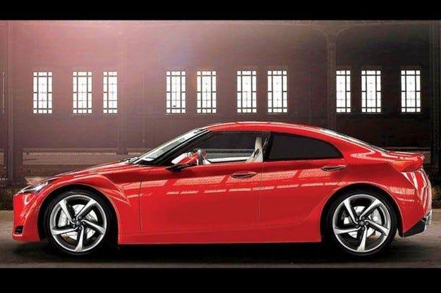 Toyota GT86: Седанът дебютира в Дубай