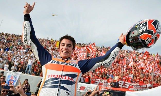 MotoGP: Маркес е най-младият световен шампион