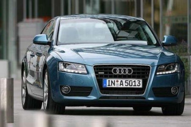 Audi: Нови двигатели за A5