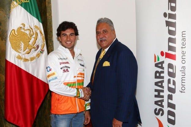 Официално: Перес подписа с Force India