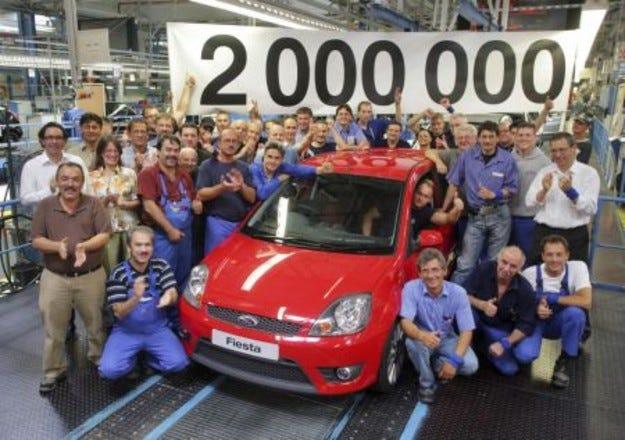 Ford в Кьолн произведе два милиона Fiesta и Fusion