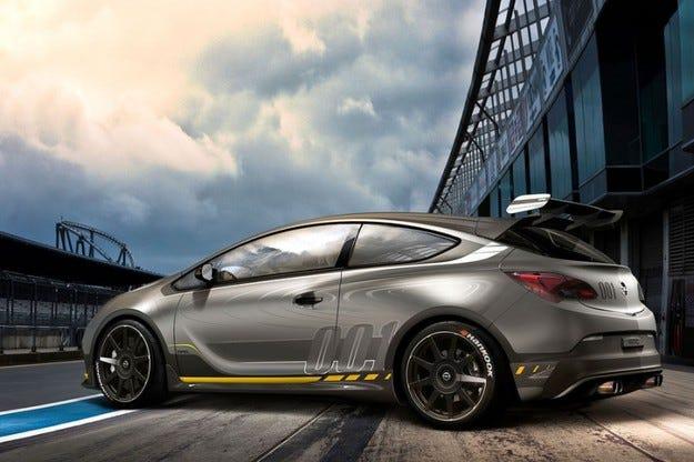 Opel Astra OPC Extreme на Автомобилното изложение в Женева 2014