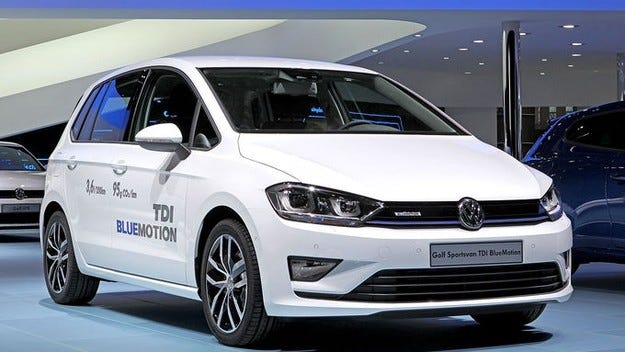 VW Golf Sportsvan ще е много пестелив
