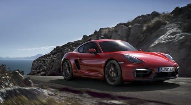 Дуетът Porsche Boxster и Cayman GTS с 15 коня повече