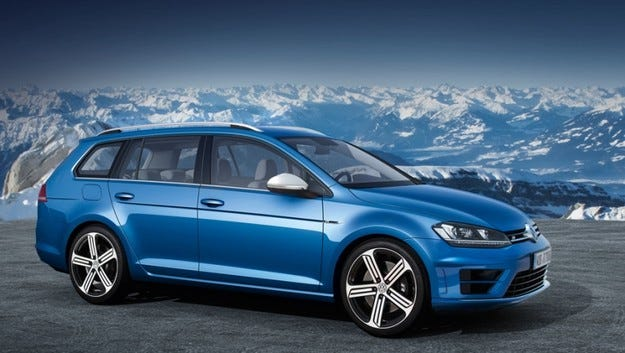 Volkswagen направи тестов GolfR Variant
