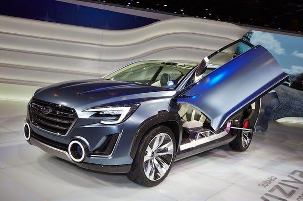 Прототипът Subaru Viziv 2 ще бъде в основата на новия Tribeca