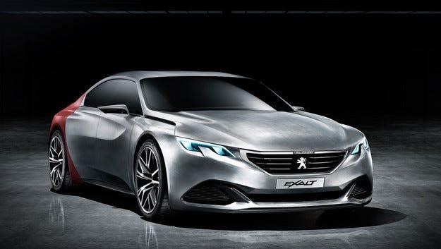 Прототипът Exalt на Peugeot дебютира в Пекин