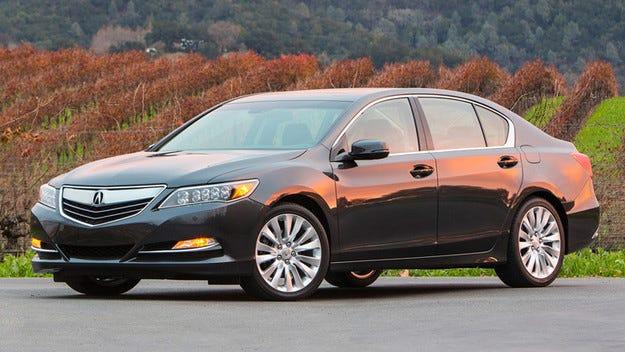 Acura ще покаже в Пекин седан с три електромотора