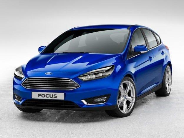 Ford разсекрети обновения Focus седан