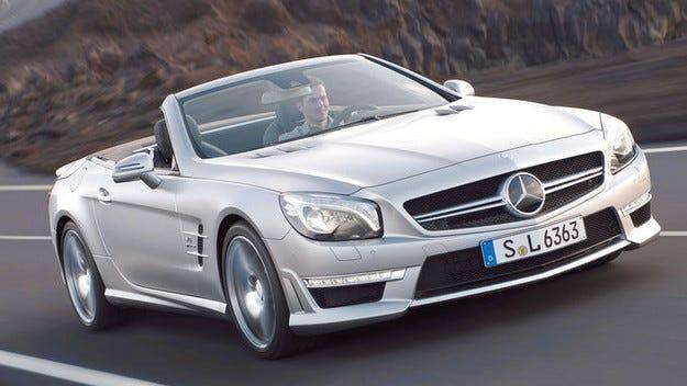 Готвят нова платформа за Mercedes SL и SLK